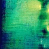 Abstract grunge textured background. With different color patterns: blue; green; yellow