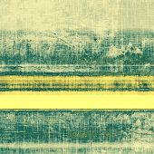 Grunge texture, may be used as retro-style background. With different color patterns: yellow; gray; green