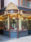 Candy store front art nouveau