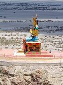 Buddha Statue In Nubra Valley