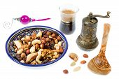 foto of mixture  - A mixture of nuts popular in Arab countries - JPG