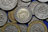 foto of dirhams  - Coins of Morocco - JPG