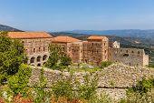 Byzantine city of Mystras, Peloponnes, Greece