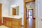 Maple Bathroom Vanity Cabinet
