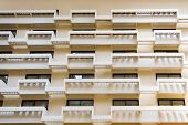 Hotel Atrium Balconies