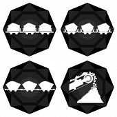 Badges coal industry