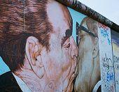 Berlin Wall Famous Graffiti