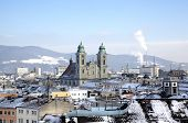 picture of linzer  - Cityscape of Linz from Linzer Schloss - JPG