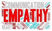 pic of empathy  - Empathy word cloud on a white background - JPG