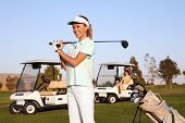 Pretty Woman Golfer