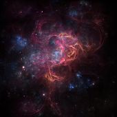 stock photo of outer  - deep space nebula - JPG