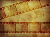 Grunge film strip texture 6