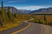 Denali National Park And Preserve Is A National Park And Preserve Located In Interior Alaska, Center poster
