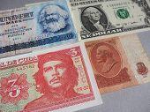 Marx, Washington, Che Guevara And Lenin poster