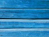Azure Painted Balks Wall Background