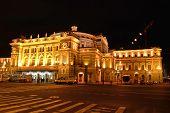 Mariinsky Theatre, St Petersburg, At Night