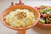 pic of tagine  - Moroccan couscous and  - JPG