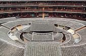 Tulou,a historical site in Fujian china.World Heritage.