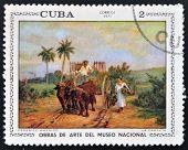 CUBA - CIRCA 1971: A stamp printed in cuba