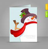 Gift Card com o boneco de neve Funy