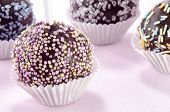 Cake Pop With Coloured Sprinkles