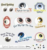 Vector Set: Eyeball and Tagline Labels