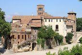 Tiberina Island in Rome