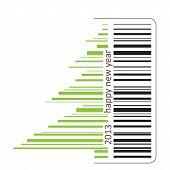 Green Barcode
