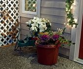 Holiday Porch Scene