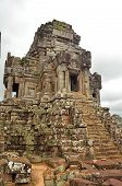 One Of The Towers Of The Ta Keo, Near Angkor Thom, In Siem Reap, Cambodia