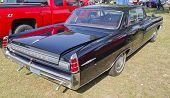 1963 Black Pontiac Bonneville Rear Side