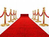 Red Ivent Carpet