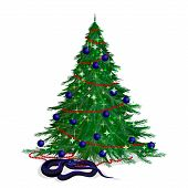 The Serpent And The Festive Fir-tree