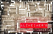 stock photo of medical condition  - Alzheimer - JPG
