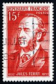 Postage Stamp France 1951 Jules Ferry, Statesman And Republican