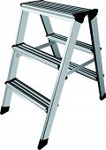 stock photo of step-ladder  - Easy step ladder two steps - JPG