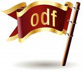 Royal-flag-document-file-type-odf