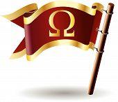Royal-bandeira-grego-omega