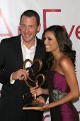 LOS ANGELES - NOVEMBER 21: Lance Armstrong and Eva Longoria at