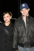 LOS ANGELES - NOVEMBER 13: Rachael Leigh Cook and Daniel Gillies at the Helio Drift Launch Party at 400 South La Brea on November 13, 2006 in Los Angeles, CA.