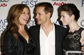 LOS ANGELES - NOVEMBER 10: Rita Wilson with Chad Lowe and Michelle Trachtenberg at the AFI Fest 2006 Screening of
