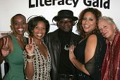 LOS ANGELES - NOVEMBER 11: Colette Divine, J. Karen Thomas, TC Carson, Kim Coles and Sally Kirkland at the 1st Annual Read To Succeed Literary Gala in Renaissance Hollywood Hotel November 11, 2006.