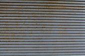 Rusty Steel Door Texture Background