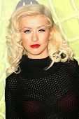 LOS ANGELES - NOVEMBER 02: Christina Aguilera at the Motorola 8th Anniversary Party at Hollywood Pal