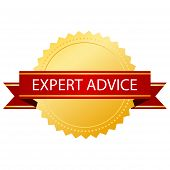 Expert advice gold symbol