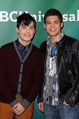 Andy Mientus, Jeremy Jordon at NBC Universal's