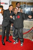 WESTWOOD, CA - DECEMBER 07: Terrence Howard and Ludacris at the premiere of