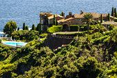 Pretty House In Antibes. Antibes Is A Resort Town In The Alps-maritimes Department In Southeastern F
