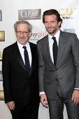 Steven Spielberg, Bradley Cooper at the 18th Annual Critics' Choice Movie Awards Arrivals, Barker Ha
