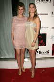 LOS ANGELES - DECEMBER 02: Bonnie Somerville and Ali Larter at the